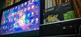 Torre gamer con Tarjeta Gamer Gt 710