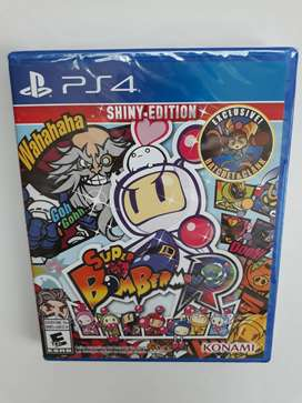 Super Bomberman R Juego Ps4 Nuevo Y Sellado