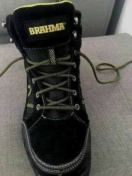Botas Brahma originales ,punta de hierro.
