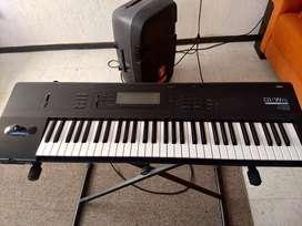 Se vende teclado synthetizador korg 01wfd