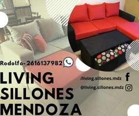 LIVING SILLONES DE FABRICA