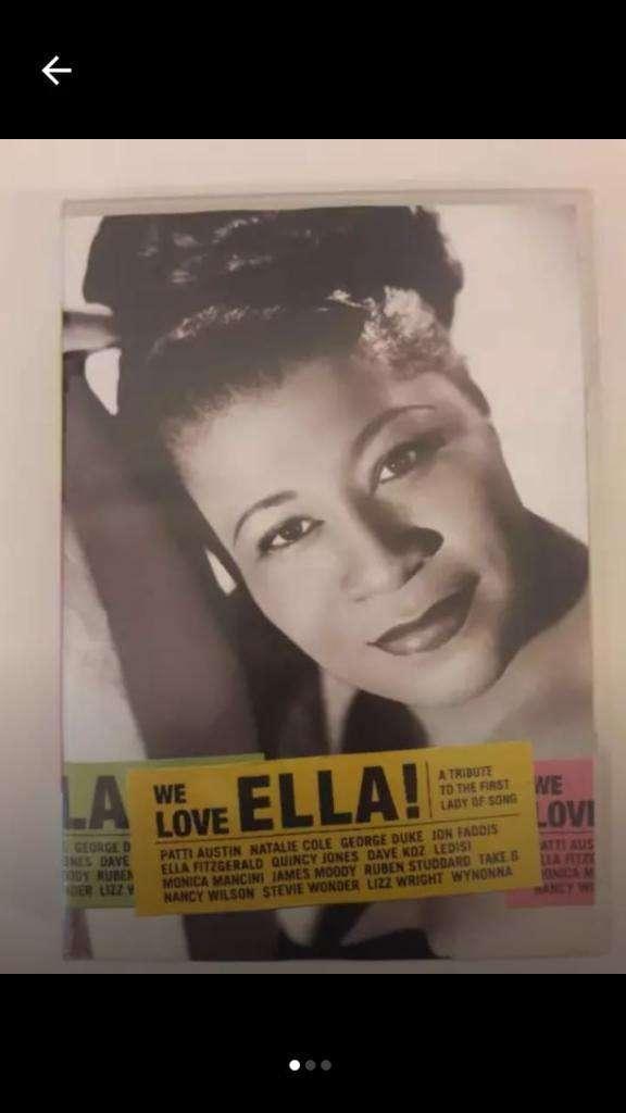 """DVD de Jazz """"Tributo a Ella Fitzgerald"""" 0"""