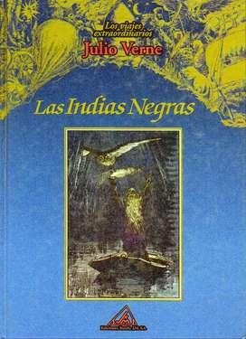 JULIO VERNE - Las Indias Negras - Libro Tapa Dura