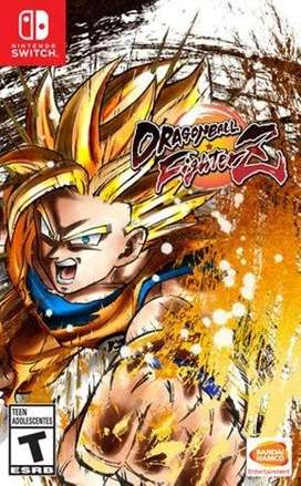 Dragon Ball FighterZ Nuevo y Sellado para Switch