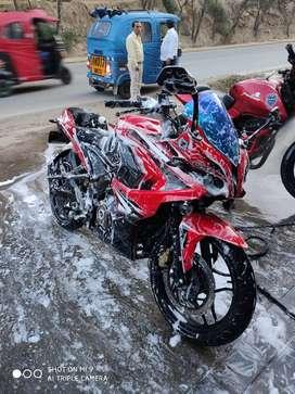 Vendo mi moto rs del año 2015 modelo 2016