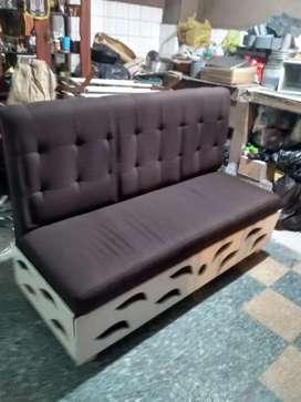 Mesas de centro y sillón