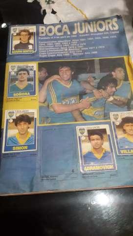 album antiguo de todos los equipos