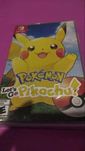 pokemon pikachu nintendo switch usado fisico original