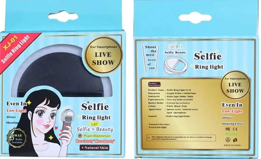Luz LED para Selfie 0