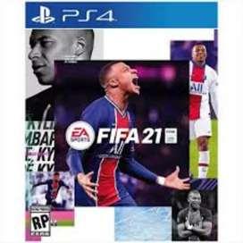 Fifa 21 PS4, fisico, nuevo