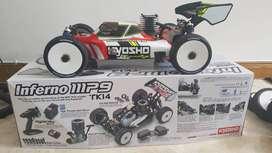 Kyosho Inferno Mp9 Tki4 Readyset 1/8 Scale Rc Nitro Buggy