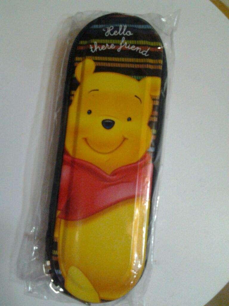 Cartuchera C Cierre Winnie Pooh Nueva 0