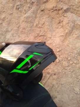 Vendo casco Verde