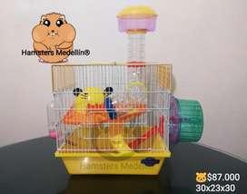 Jaula Hamster 16