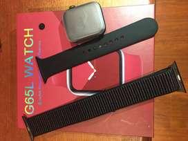 Smart watch G65L, Cópia perfeita de Apple IWatch
