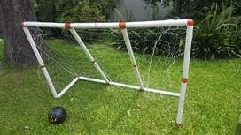 Arcos de fútbol de PVC 2 x 1 90-60-60 o 2 de 45-30-30