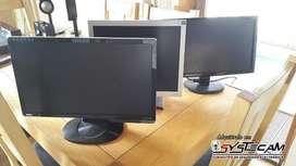 Monitores todas las pulgadas LCD LED