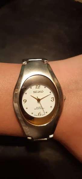 Reloj Seiko a pila