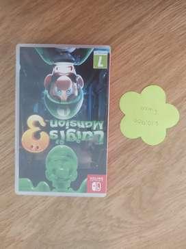 Juego Luigi's mansion 3 nintendo switch