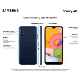 Samsung a01 nuevo 32gb almacenamiento