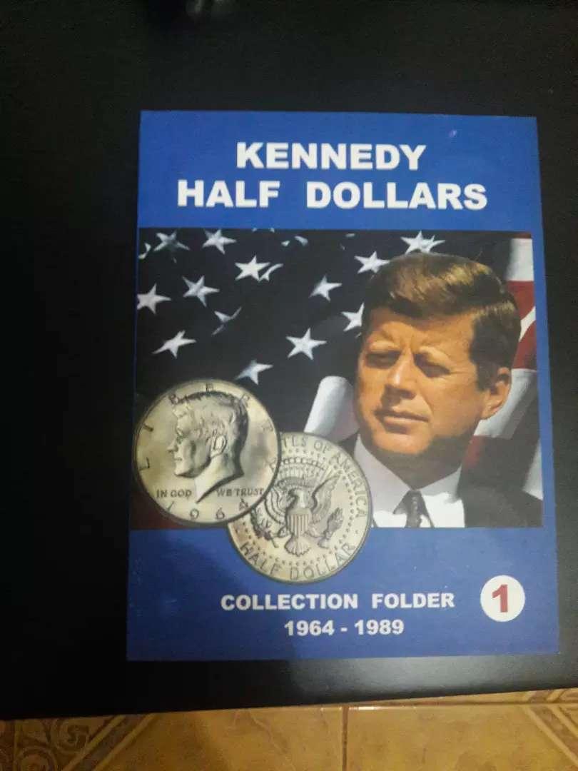 ALBUM HALF DOLLAR KENNEDY 22 MONEDAS