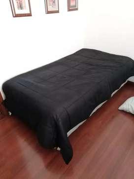 Vendo cama sencilla con base cama
