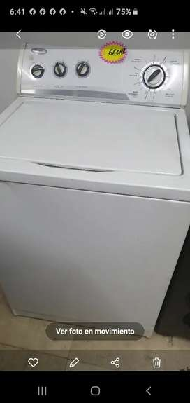 Vendo lavadora whirpool americana de 32 líbras