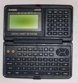 Agenda Electrónica - Casio SF-5300B
