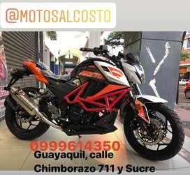 Moto FactoryBike FK 370cc Bicilindrica con Radiador de Agua Consultas al Whatsapp