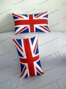 bandera de almohada países Inglaterra, cojín personalizado inglaterra