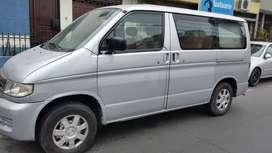 Vendo VAN, motor diesel japones