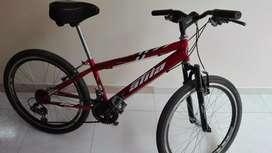 Bicicleta todo terreno 24