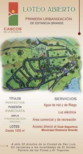 Lote en Venta en Cascos de la estancia, Estancia grande  650000