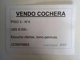 Cochera (zona centro Mar del Plata)