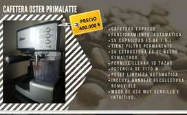 Cafetera expreso marca Oster