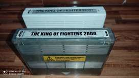 The King of fighters 2000 y 2001 mvs