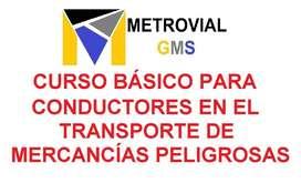 CURSO PARA TRANSPORTE DE MERCANCÍAS PELIGROSAS - todos los sábados