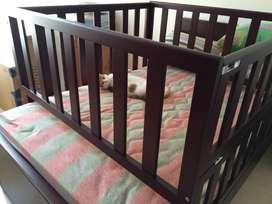Barandas para cama cuna - tamaño semidoble