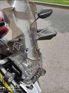 Moto akt adventour modificada cilindrada