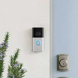 Timbre Inteligente Ring Doorbell 3, Con Vídeo Hd, Original