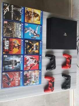 PlayStation 4 pro con juegos