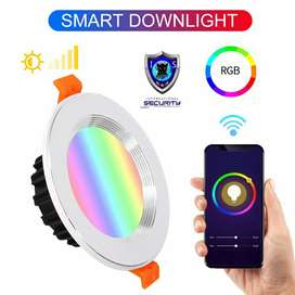 Luz Led para techo DOWNLIGHT WIFI RGB 7W