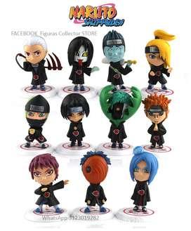 Figuras de Akatsuki Naruto Shippuden