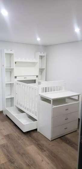 Vendo hermosa cama. Para bebe