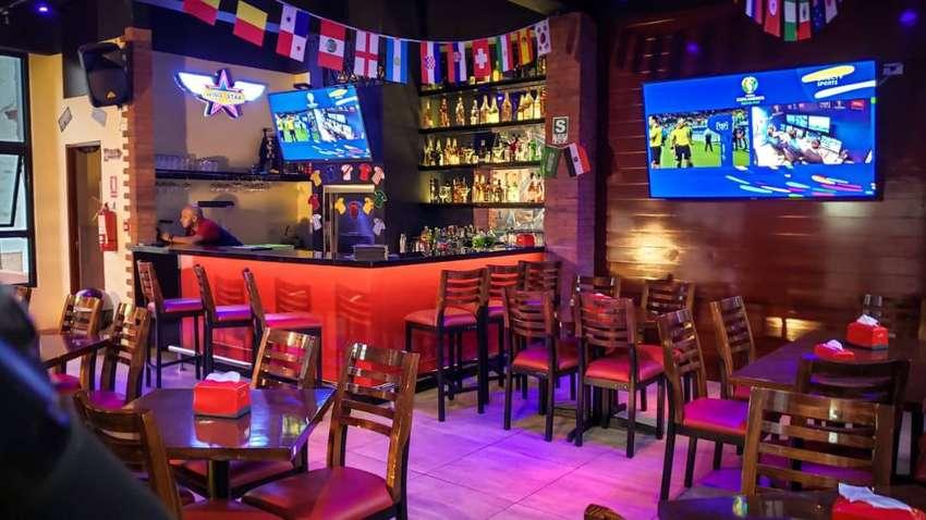 se traspasa restaurante bar en miraflores 0