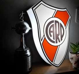 Escudo luminoso River Plate