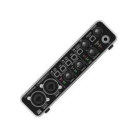 Interface Behringer UMC204HD audio Music Box