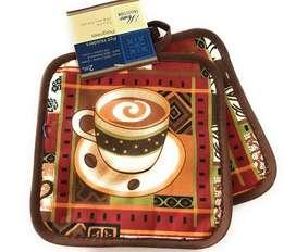 Agarradera pack 2 taza cafe decoracion cafeteria