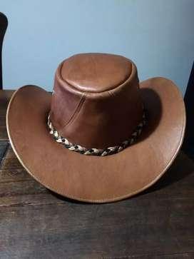 Venta de sombrero de cuero