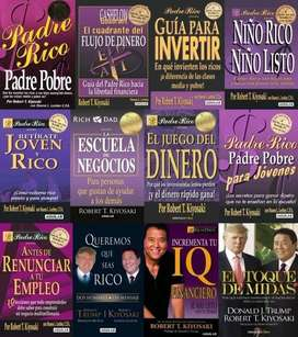 Pack libros Robert Kiyosaki - 23 libros